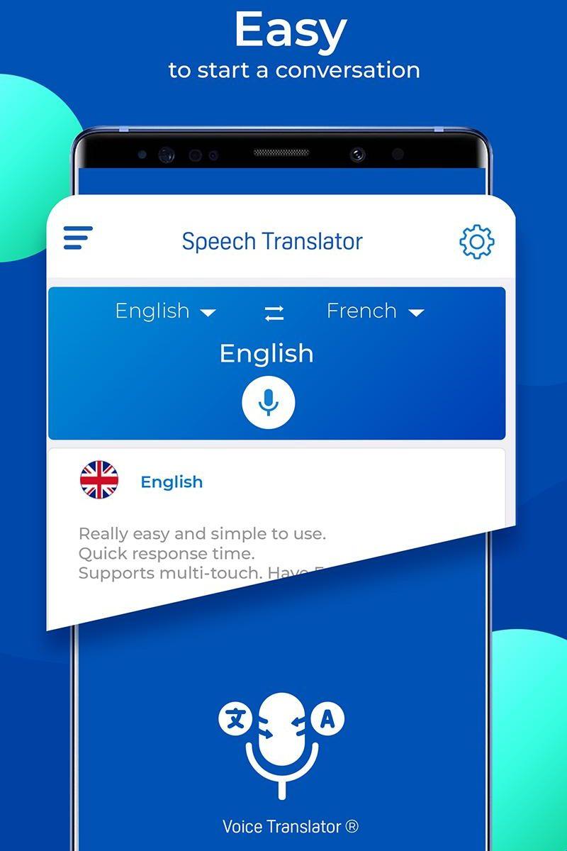 Speech to Speech Translation