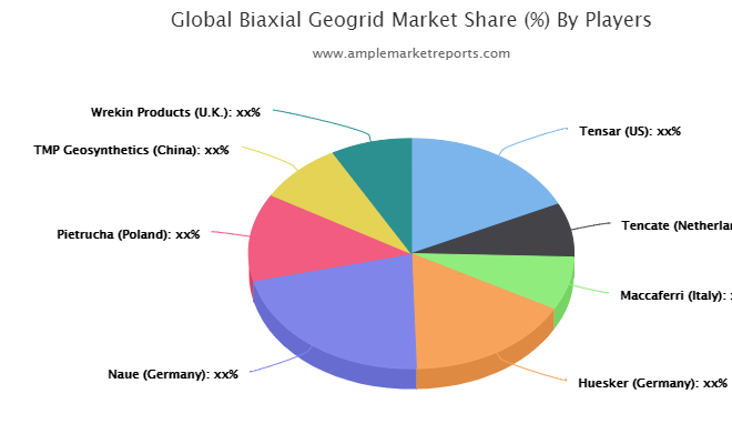The recent research report on the global Biaxial Geogrid market presents Latest industry data and future trends